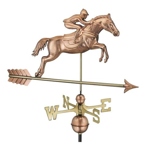 horse and sulky weathervane copper with directions mid to shop good directions copper roof mount horse weathervane