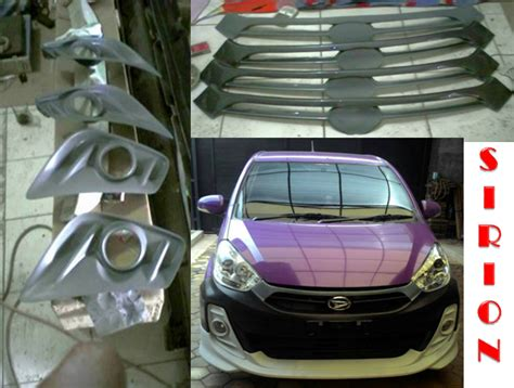 Cover Lu Belakang Myvi Bodykit Bumper All New Sirion Myvi 2011 2014 Auto