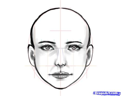 pattern on how to sketch face how to draw a human face step by step faces people