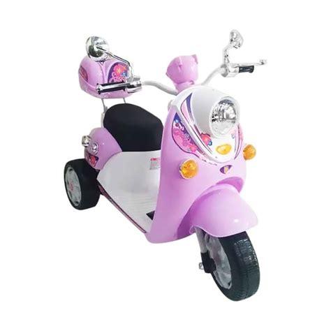 Motor Aki Scoopy Mainan Anak by Jual Pmb M338 Scoopy Motor Mainan Aki Pink