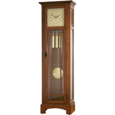 Oak Dining Room Sets For Sale by Mission Style Grandfather Clock Amish Crafted Furniture