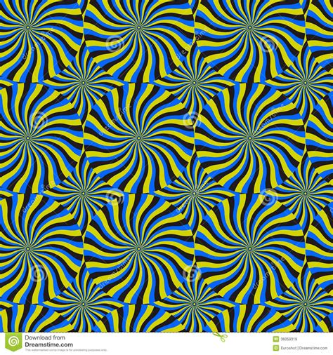 svg pattern rotate optical illusion spin cycle vector pattern abstract