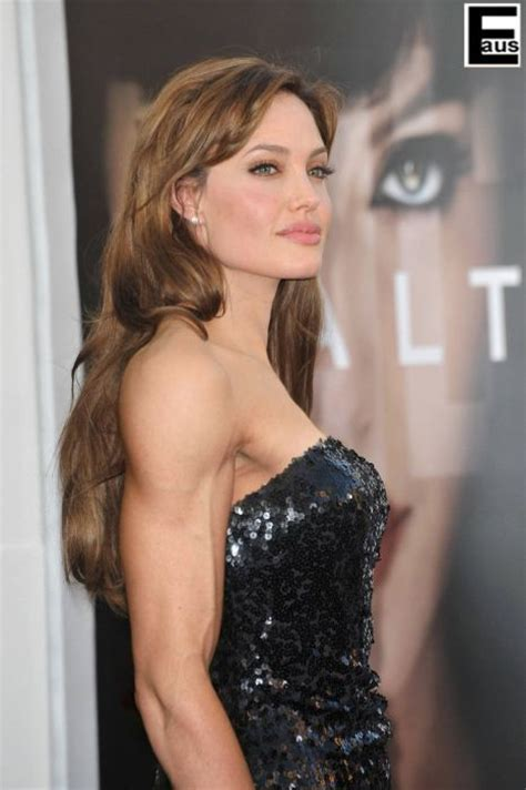 celeb muscle hot female celebs with weird photoshopped muscles 20 pics