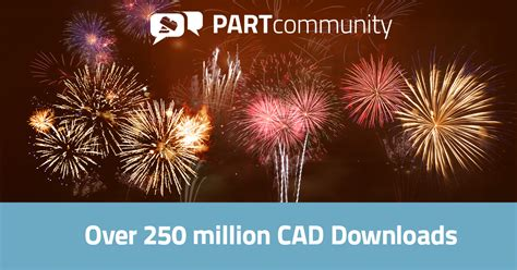 cadenas cad downloads record year for partcommunity 2017 repeats record numbers