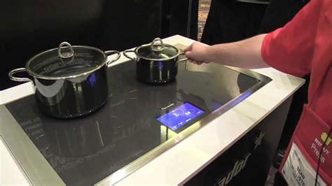 Freedom Induction Cooktop Thermador Freedom Induction Cooktop Hands On Youtube