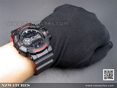 Casio Gshock Ga400 Redgrey buy casio g shock 200m analog digital black sport ga 400hr 1a ga400hr buy watches