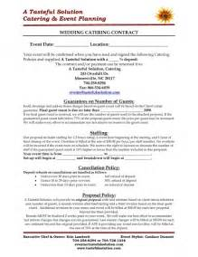 Wedding Catering Contract Sle by Food And Beverage Tips For Your Wedding