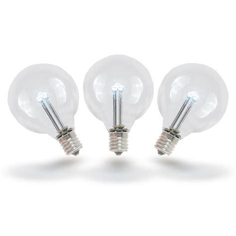 white light light bulbs pure white led g40 glass globe light bulbs novelty lights