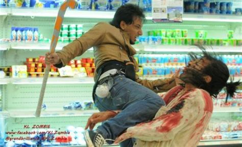 Film Malaysia Zizan | trailer for malaysian zombedy kl zombi bloody disgusting