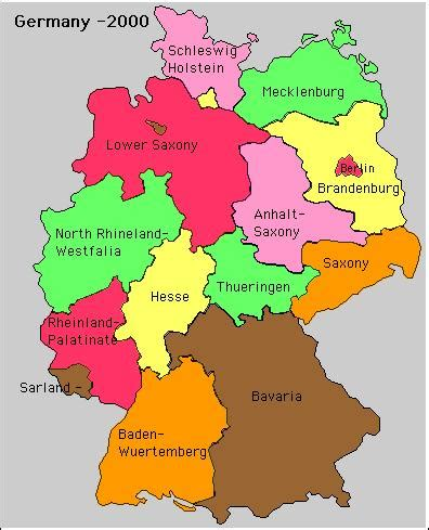 german states and capitals map page5 html