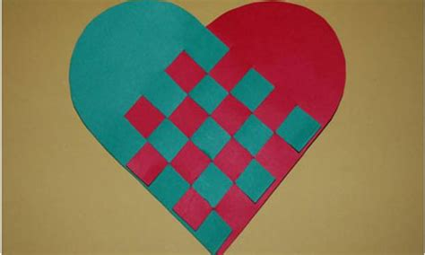 How To Make Woven Paper Hearts - how to make swedish paper hearts education the guardian