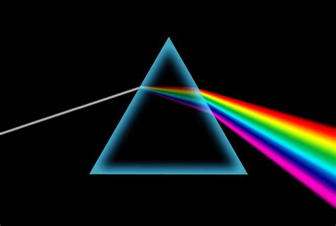 light prism splitting white light dk find out