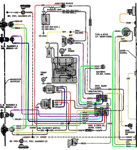 1970 chevelle turn signal wiring diagram wiring diagram