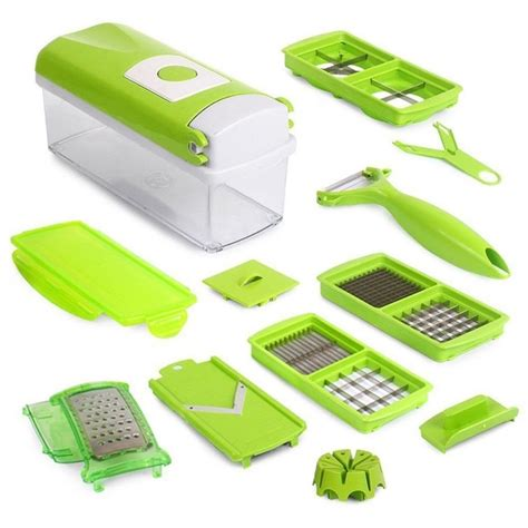 Genius Nicer Dicer Plus Wakastore 1 genius nicer dicer plus vegetable fruit slicer cutter chopper from category kitchen insasta