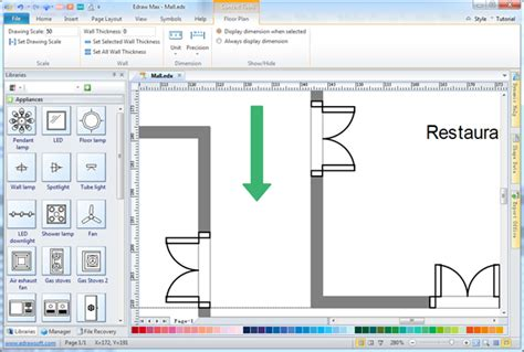 easy 2d architectural design software easy architectural drafting maker