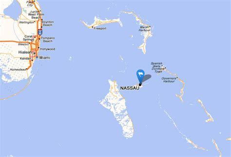 bahamas on map nassau map bahamas
