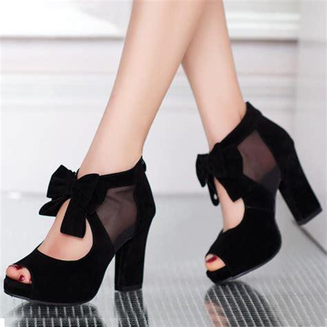 chunky heel high heels rilihong 174 sandals shoes chunky heel high heel
