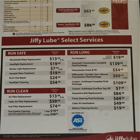 how much is a jiffy lube change jiffy lube 17 reviews change stations 6630