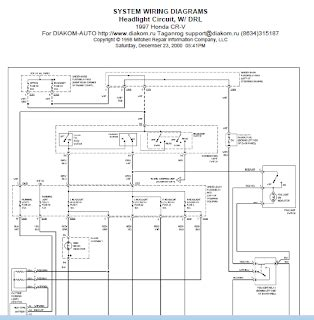 repair manuals 1997 honda crv wiring diagram