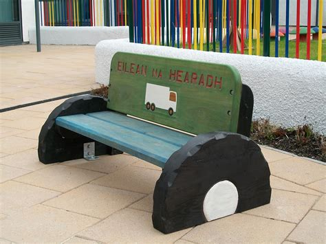 friendship benches schools gardens neil fyffe