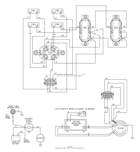 generac alternator parts wiring and parts diagram