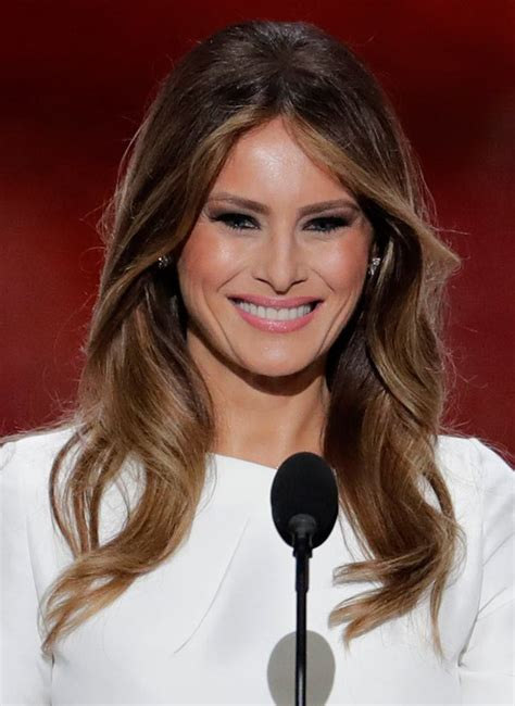 donald trumps hairstyle beautiful hairstyles melania trump s rnc hair makeup so elegant it stole