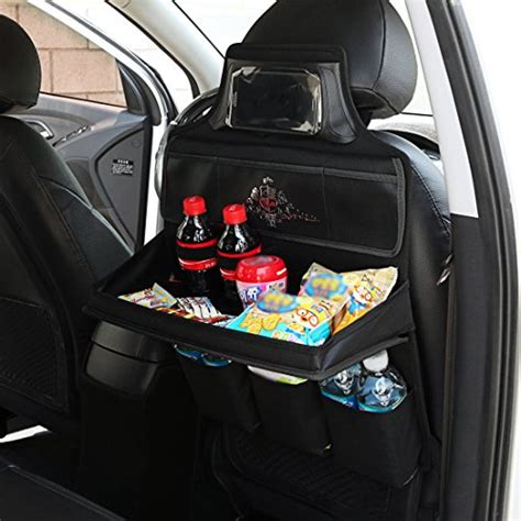 New Back Seat Organizer the best backseat car organizer with tray 2018