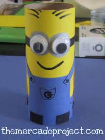 How To Make A Minion Out Of Construction Paper - minion themercadoproject