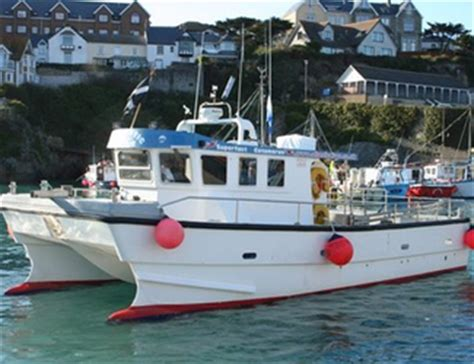 catamaran hire cornwall stay guide cornwall activities boat trips and hire