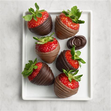 chocolate strawberries chocolate covered strawberries recipe dishmaps