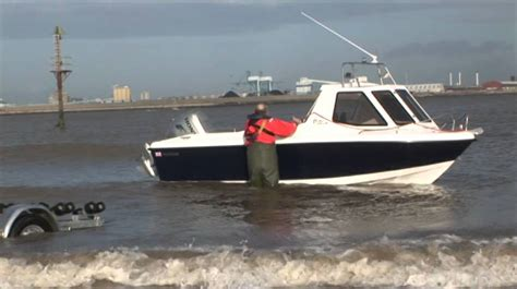 small boat licence uk warrior proangler boat test boat demo youtube