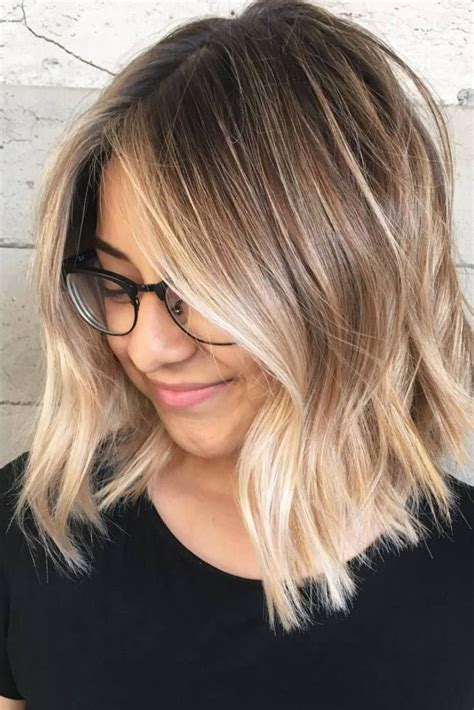 does ombre work with medium layered hair length schnell check schulterlange haare liegen voll im trend