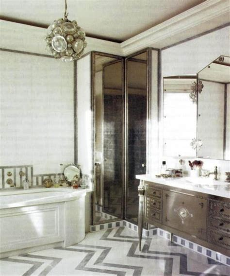 art deco bathroom designs  inspire  relaxing sanctuary digsdigs