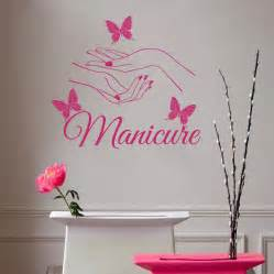 Personalized Wall Decor by E139 Hair Salon Nail Manicure Wall Stickers