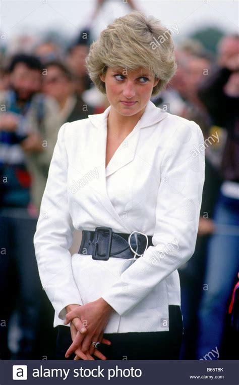 How To Reset Your Dian Nafi princess diana at guards polo club uk stock photo