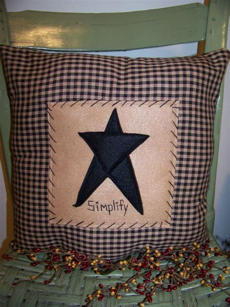 Primitive Pillows by Primitive Pillows Make These Felt Country Corner
