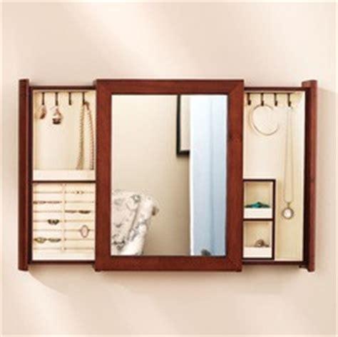 Kaboodle Com Furniture by Secret Compartment Jewelry Box Mirror Stashvault