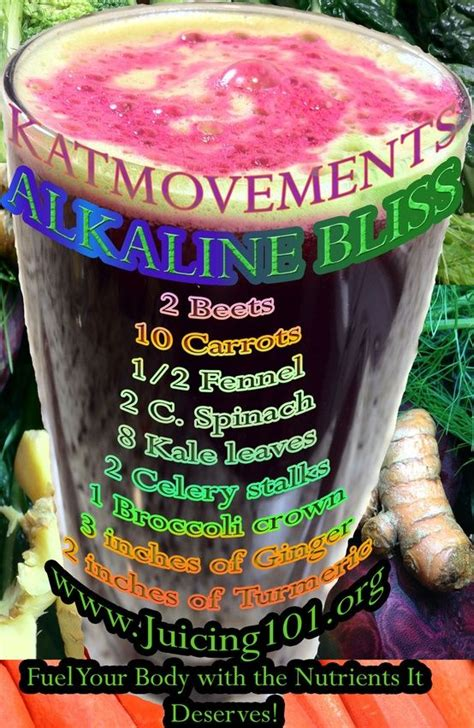Alkaline Detox Juice Recipe by 76 Best Images About Alkaline Juicing For Health On