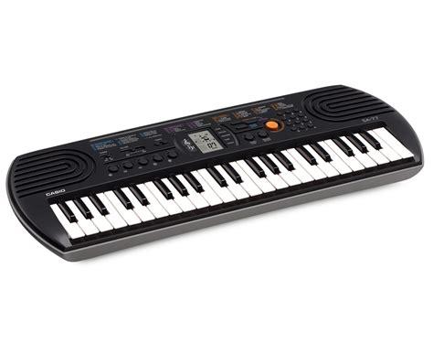 Mini Keyboard casio sa 77 mini keyboard grey color casio lab