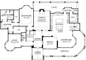 Victorian Mansion Floor Plans Victorian With 3 Car Detached Garage 67088gl 1st Floor