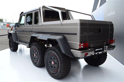 mercedes pickup truck 6x6 mercedes benz g63 amg 6x6 wikipedia