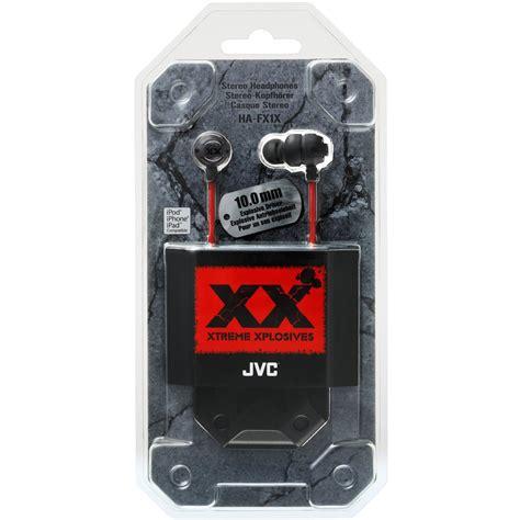 Xplosives Stereo In Ear Earphones 35mm Ha Fx1x jvc hafx1x xtreme xplosives in ear canal headphones discounted digital