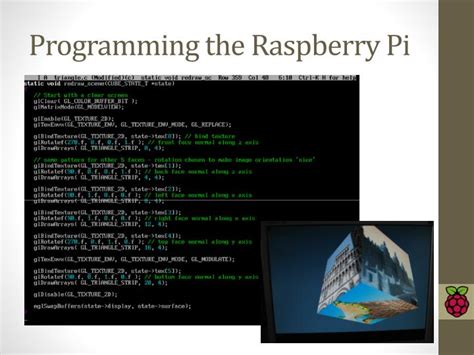 qt5 programming pdf ppt introduction to raspberry pi powerpoint presentation