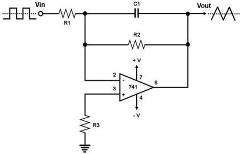 circuit integrator op electronic projects
