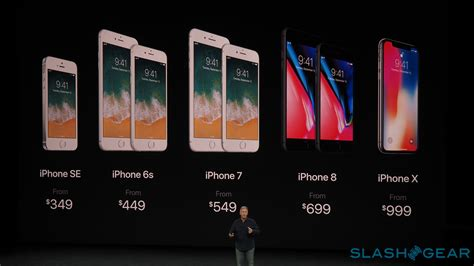 iphone x release date and pricing details slashgear