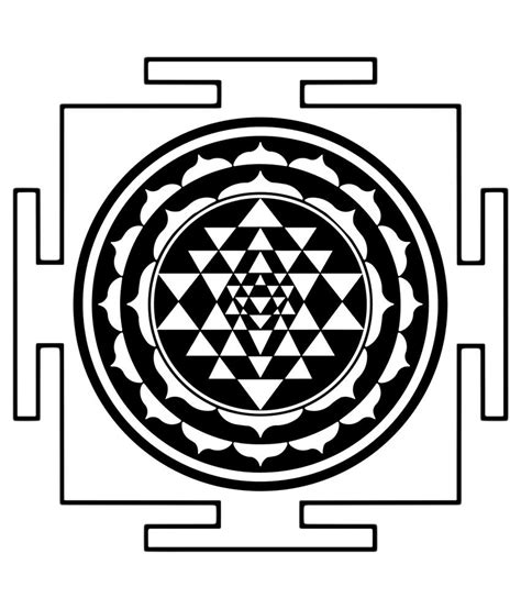 Remove Stickers From Wall veldeco sri yantra h54xw54 cm vinyl wall stickers buy