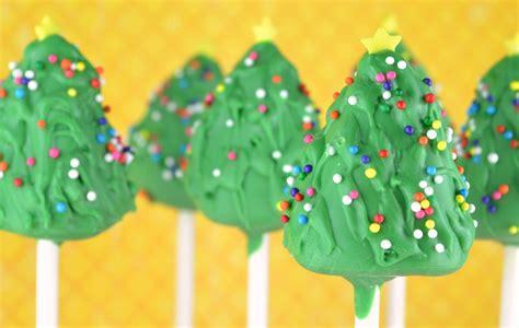 christmas tree cake pops baking in saskatoon