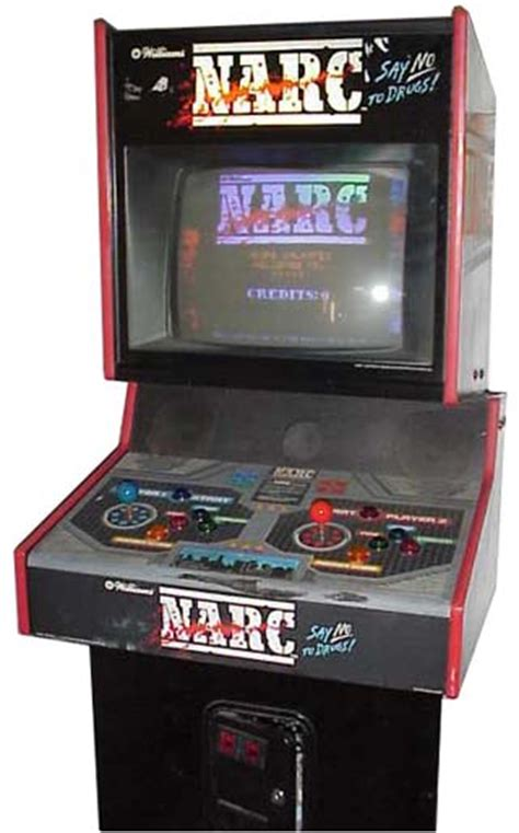 Gaming Cabinet 2000 by Narc Videogame By Williams Electronic Inc Wms