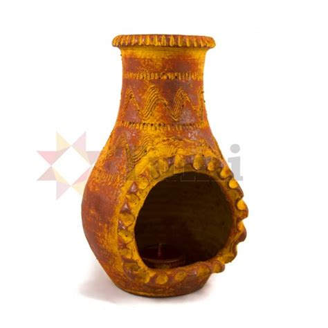 chiminea with candles mexico chiminea candle 22cm