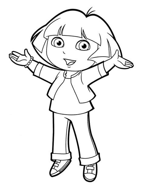 dora horse coloring pages show jumping coloring pages